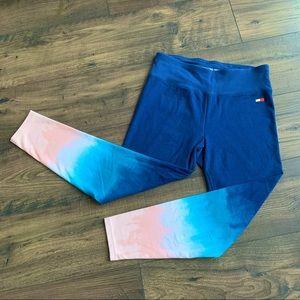 Tommy Hilger Sport Ombré 7/8 Leggings Yoga M